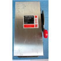 CUTLER HAMMER DH321FWK STAINLESS STEEL DISCONNECT SWITCH, NEMA 4X, 30A 30 AMPS,