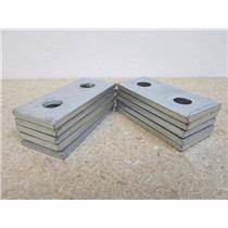 **Lot of 10**  Unistrut  P1065 EG  2-Hole Electro-Galvanized Steel Splice Plate