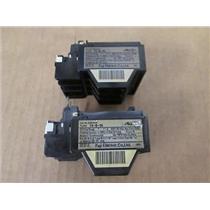 **Pack of 2** Fuji Electric  4NKORS  Type TK-5-1N  Thermal Overload Relays