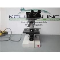 Leitz GMBH Wetzlar SM-LUX Binocular 020-446.024 Microscope 4 OBjectives.