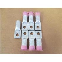 """**Lot of 7** Homac/T&B  SA 4/0-48  Aluminum Compression Lug Connectors;1/2"""" Hole"""