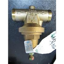 """Zurn Wilkins 34-70XLDU 3/4"""". x 3/4"""".Brass Water Pressure Reducing Valve 300 PSI."""