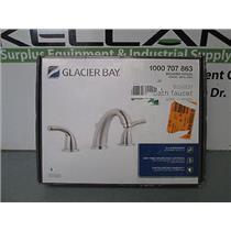 """Glacier Bay 1000 707 863 or JY5020533 Widespread 8""""- 2-Handle High-Arc BR Faucet"""