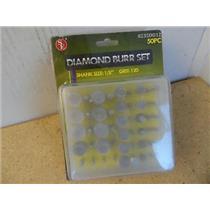 "SE 8235DD12 Diamond Burr Set 120 Grit 1/8"" Shank New"