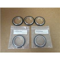 (5) Nor-Cal  NW-50-CR-SV  ST/ST Centring Seal Assembly w/Viton O-Ring, (2 new)