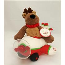Hallmark Holiday Techno Plush 2008 Rodney Airplane - Up, Up and Away - #XAG5241