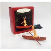 Hallmark Keepsake Ornament 1995 Pocahontas - Disney's Pocahontas - #QXI6177-DB