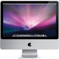 "Apple iMac A1225 20\""- MB417LL/A Core 2 Duo 2.66GHz,320GB HDD,4GB Ram , OS 10.11"