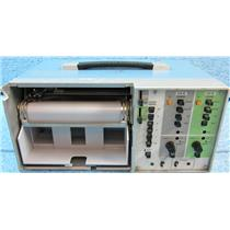 #8 SOLTEC 4202 2-PEN 2-CHANNEL PORTABLE PEN STRIP CHART RECORDER, ANALOG - USED