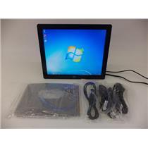 ELO E649473 1717L AccuTouch, USB/RS232, VGA, Black, LED Backlt Monitor