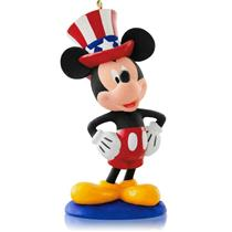 Hallmark Ornament 2015 A Year Of Disney Magic #12 - Yankee Doodle Mickey QHA1033