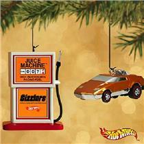 Hallmark Ornament 2002 Juice Machine and Revin Heaven - Hot Wheels - #QX8236
