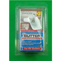 Camco 42123 RV Gutter Extensions 4 Pack
