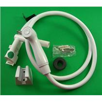 Sealand 319055 Vacuum Breaker With Handspray and Extension Kit White