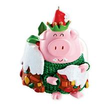 Carlton Heirloom Ornament 2013 Christmas Joy - Jolly Pig - #CXOR031D