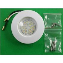 "2-7/8"" Round RV Trailer LED Interior Surface Mount 18 Diode White Light 950115W"