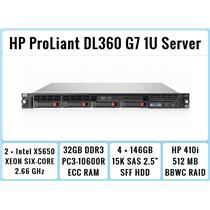 HP ProLiant DL360 G7 1U Server 2xSix-Core Xeon 2.66GHz + 32GB RAM + 4x146GB 15K