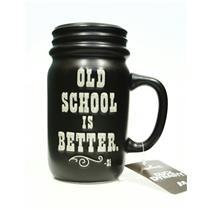 Hallmark 2013 Duck Dynasty Old School is Better Mason Jar Mug - #MJB2907