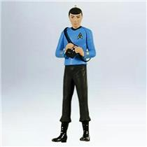 Hallmark Series Ornament 2011 Star Trek Legends #2 - Spock - #QX8829-DB
