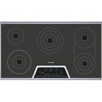 Thermador Masterpiece Series 36 Inch Smoothtop Electric Cooktop CET366NS