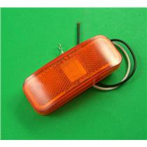 OTL MCL44AB Rectangular LED Trailer Clearance / Side Marker Light 6 LED - Amber