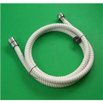 "Camco 43717 RV Marine 60"" Flexible Replacement Shower Hose White"