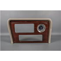 2002-2006 Cadillac Escalade Radio Dash Trim Bezel with Clock