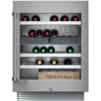 Gaggenau 24 Inch 34 Bottle Capacity SS Under Counter Wine Storage Unit RW404761
