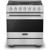 "Viking 3 Series 30"" 4.7 cu. ft. Self-Clean Dual Flow Electric Range RVER33015BSS"