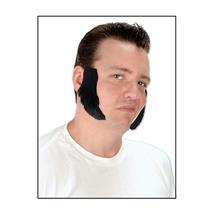 Beistle Black Mutton Chops Self Adhesive Facial Hair