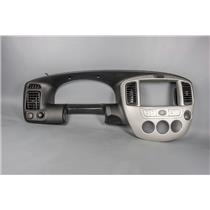 2006 Mazda Tribute Dash Trim Bezel with Vents 12 Volt & AC Switch