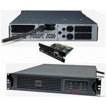 APC SUA3000R2X180 SMART-UPS 3000VA 120V USB POWER BACKUP SUA3000RM2U AP9617 REF