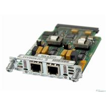 Cisco VIC-2FXO 2-port RJ-11 FXO WAN Voice/Fax Network Interface Module Card