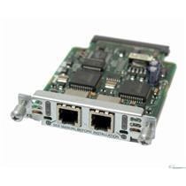 Cisco VIC-2FXS 2-Port RJ-11 FXS Voice/Fax Interface Module Card