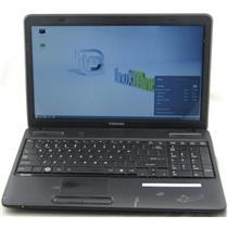 """Toshiba Satellite C655-S5049 15.6"""" Celeron 2.2GHz 2GB 160GB Linux Laptop WiFi"""