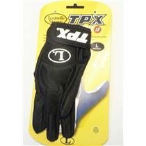 Louisville Slugger TPX Freestyle 1.0 Youth Baseball Batting Glove Size L Black