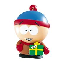 Carlton American Greeting Ornament 2010 Stan Holding Present South Park AGOR032X