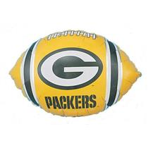 "Green Bay Packers Football 18"" Foil Balloon"