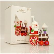 Hallmark Series Ornament 2010 Santas Sweet Ride #4 - Sugary Train - #QX8403