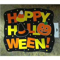 """14x12"""" Happy Halloween Cardstock Party Paper Wall Window Decoration Decor"""