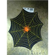 "12x14"" Spiderweb and Spider Halloween Cardstock Wall Window Decoration Decor"
