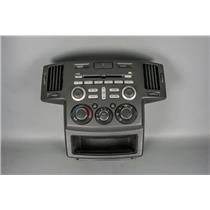 04-11 Mitsubishi Endeavor Radio Climate Bezel w/ Vents & Radio Climate Controls