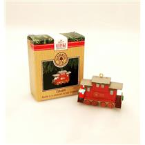 Hallmark Keepsake Ornament 1991 Claus & Company R.R. #4 - Caboose - #XPR9733