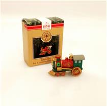 Hallmark Ornament 1991 Claus & Company R.R. #1 - Locomotive - #XPR9730