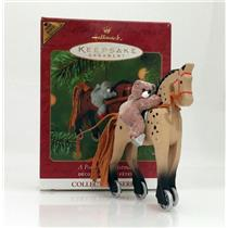 Hallmark Limited Colorway Repaint Ornament 2001 A Pony for Christmas QX6995C-SDB