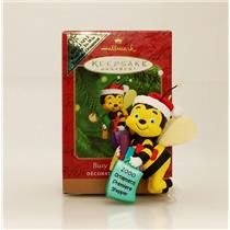 Hallmark Colorway / Repaint Ornament 2000 Busy Bee Shopper - #QX6964C