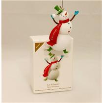 Hallmark Colorway / Repaint Ornament 2011 Let it Snow! - #LPR3459