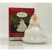 Hallmark Keepsake Club Ornament 1997 Happy Holidays Barbie #2 - #QXC5162