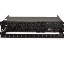 APC AP7811 Rack Mountable PDU Metered 2U 30A 208V (12) C13s & (4) C19 Ref