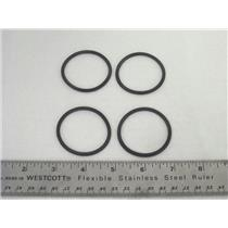(4) AC Delco 8678473 GM Automatic Transmission 43.38 mm Accumulator Piston Seal